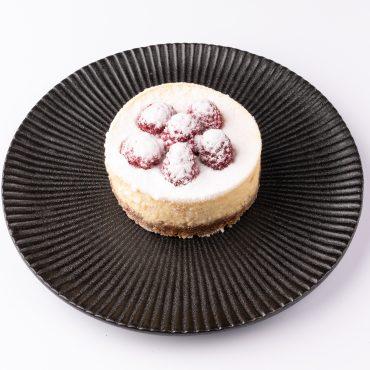 Fräulein Cheesecake mit Himbeeren